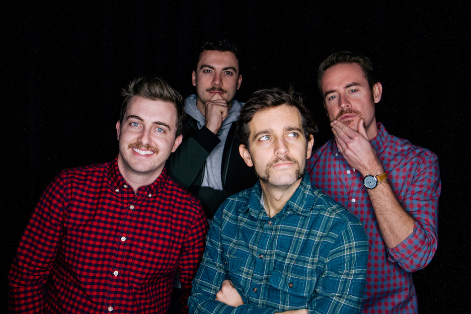 Mitch, Ethan, Jeremy, and I went all in for this year's No-shave November challenge.