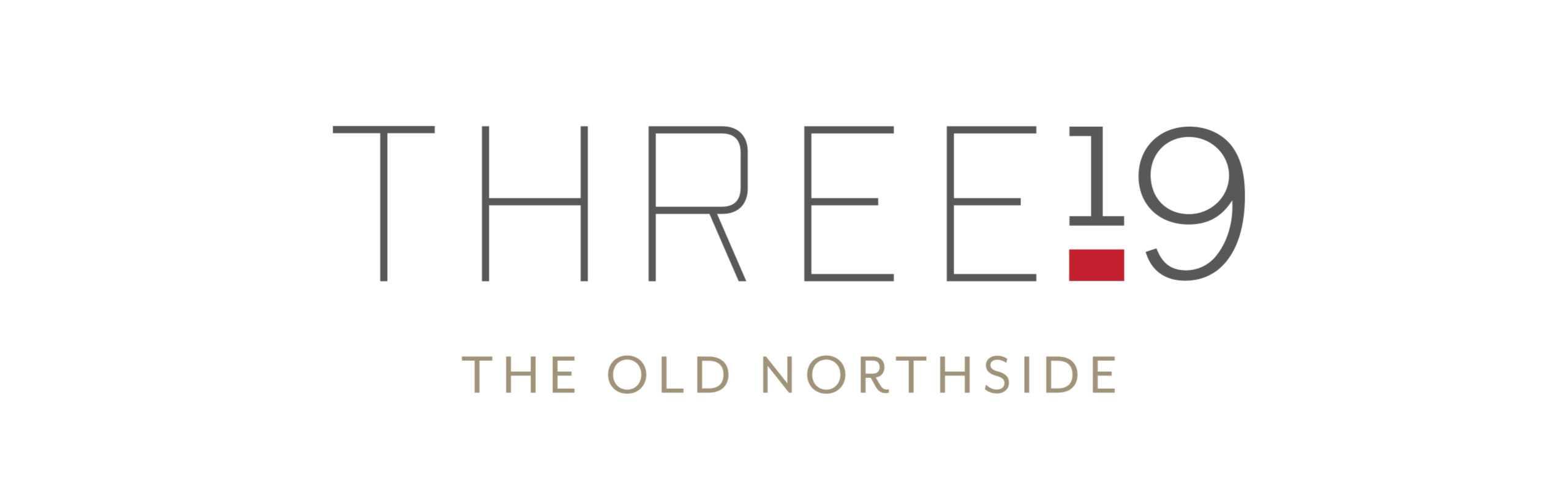 The final Three 19 logo