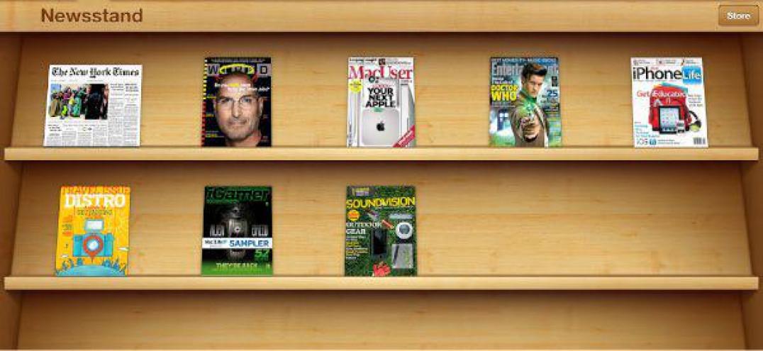 Cinemagraphs iOS Newsstand
