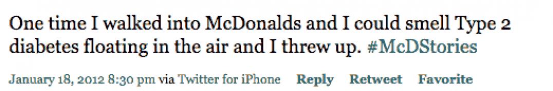 On Being Trendy McDonalds