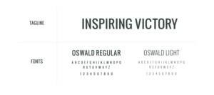 Oswald Regular is a bit bolder while Oswald Light offers a lighter touch.